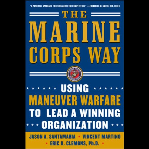 The Marine Corps Way audiobook cover art