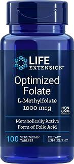 El folato optimizado. 1000 mcg. 100 Tabs Veggie - Extensión