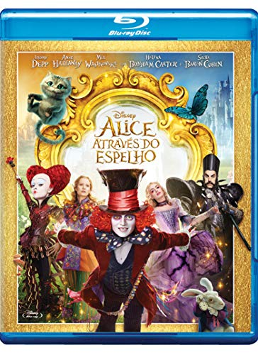 Alice Através Do Espelho [Blu-ray]