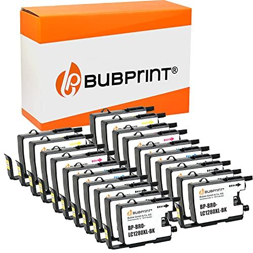20 Bubprint Cartuchos de Tinta Compatible para Brother LC-1280XL LC-1280 XL para DCP-J525W DCP-J725DW DCP-J925DW MFC-J430W MFC-J5910DW MFC-J625DW MFC-J6510DW MFC-J6710DW MFC-J6910DW MFC-J825DW