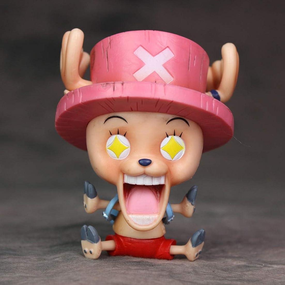 教師の日ゲート火曜日サプライズチョバ、アニメワンピースモデル、子供のおもちゃコレクション像、卓上装飾玩具像玩具モデルPVC(11cm) JSFQ