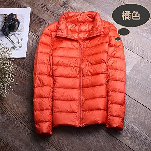 YRFHQB winterjas vrouwen mantel warm ultra light 90% donsjack slank vrouwen herfst jas winddicht donzen korte mantel