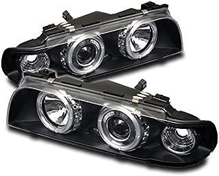 e38 halo projector headlights