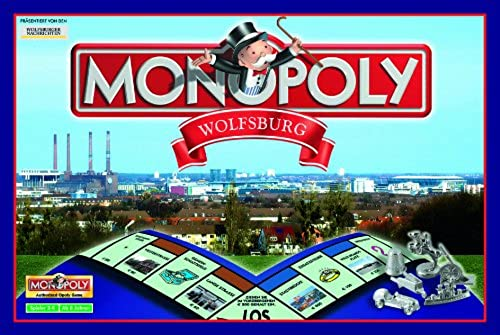 Winning Moves Monopoly Wolfsburg. St e Edition