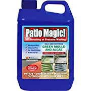 Patio Magic! 016492 Concentrate Ideal for Patios, Paths & Driveways (Kills Algae, Moss & Lichens), 5 liters