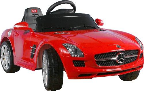 Voiture - Véhicule électrique pour Enfant Electric Car for Kids Mercedes SLS AMG Red