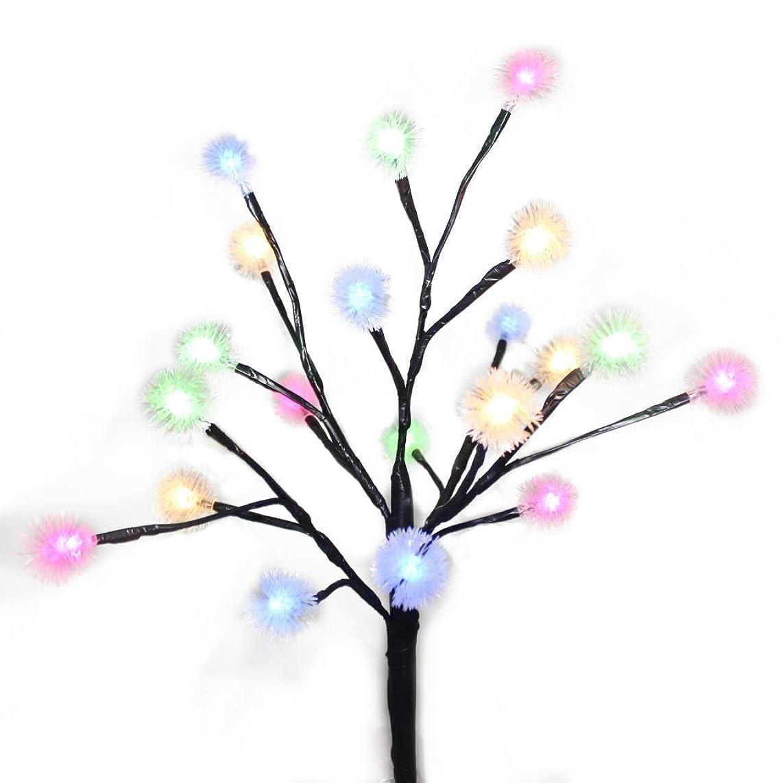Ochine 20LED Outdoor Solar Garden Stake Light Artificial Branch Lamp Decorative Fairy Light For Garden, Patio, Backyard
