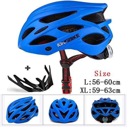 CZCJD Cascos De Ciclismocasco De Bicicleta para HombreUltralight Road MTB Mountain Bike...