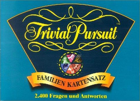 Trivial Pursuit - Familien, Kartensatz mit 2400 Fragen