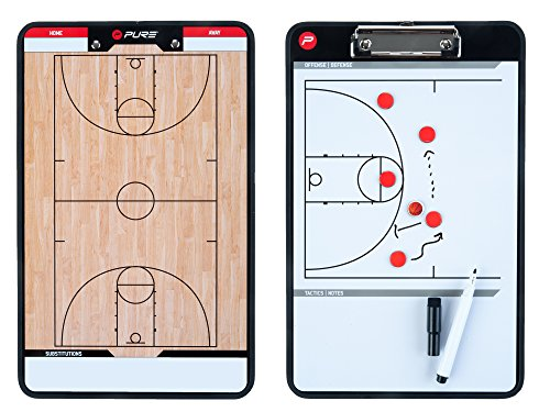 Pure 2Improve Taktiktafel Basketball, 35x22cm