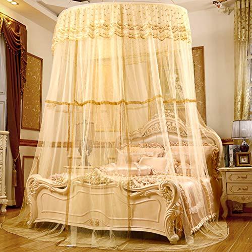 cjc moskitonetz Bett Baldachin kinderzimmer himmelbett vorhänge mädchen Reise moskitonetz Ultraleicht IKEA Tropische Region DLH gelb