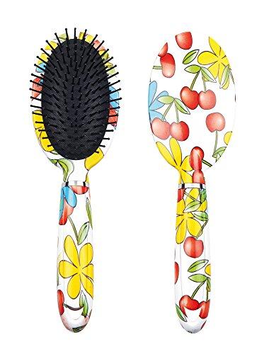 Titania Brosse à cheveux, Poils KIRSCHEN Tête Ovale, plastique, 1er Pack (1 x 112 g)