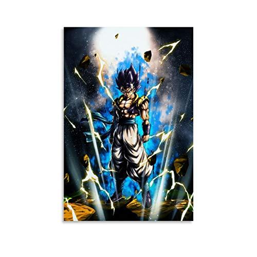 Goku Dragon Ball Z - Póster decorativo para pared (30 x 45 cm)