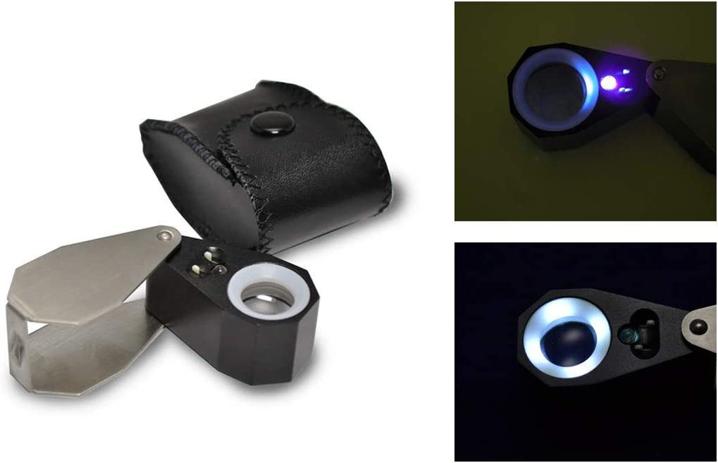 G29.617 Grobet USA specialty shop Quality inspection 14X UV LED Loupe