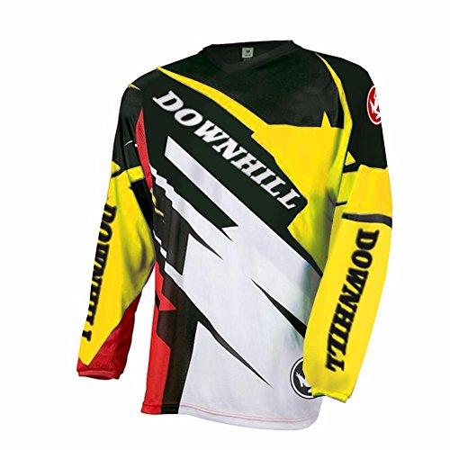 Uglyfrog Newest Sports Wear Manga Larga MTB Downhill Jersey De Descenso Bicicleta De Primavera&otoño MontañalMaillots Deportes y Aire Libre