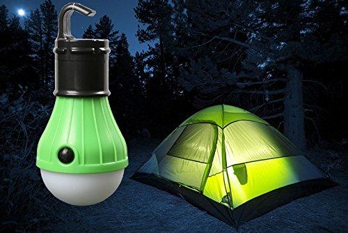 LED lumière LED Lanterne de camping – extérieur 3 LED Portable à Piles, résistant à l'eau, maison, camping, d'urgence, les ouragans, tentes Lampe d'éclairage