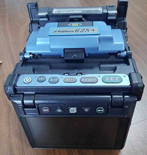 Fujikura New Model FSM-62S+ Welding Fusion Splicer with CT-08 Cleaver and other accessories.