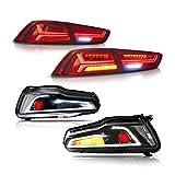 MOSTPLUS Devil Eye LED Headlights & Tail Lights Compatible for Mitsubishi Lancer EVO X 2008-2017