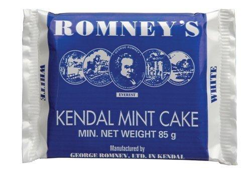 Romneys Kendal Mint Cake 85g Bar x5 by Romneys
