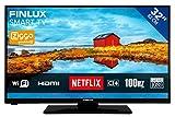 FINLUX FL3226SF Full HD Televisione da 81 cm / 32 Pollici - Smart TV, LED, Netflix, Spotify, YouTube, 100 Hz, 2x HDMI, 1x USB, 1x VGA, DVB-T / T2 / C, WiFi
