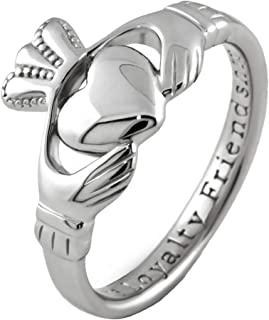 shanore silver claddagh ring