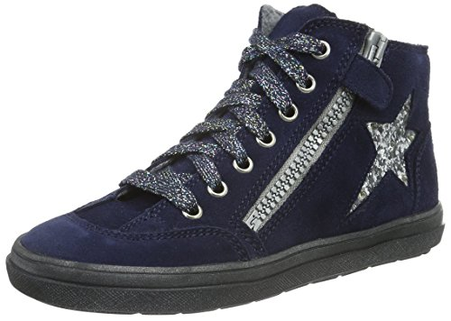 Richter Kinderschuhe Mädchen Ilva Low-Top, Blau (atlantic/silver 7201), 29 EU
