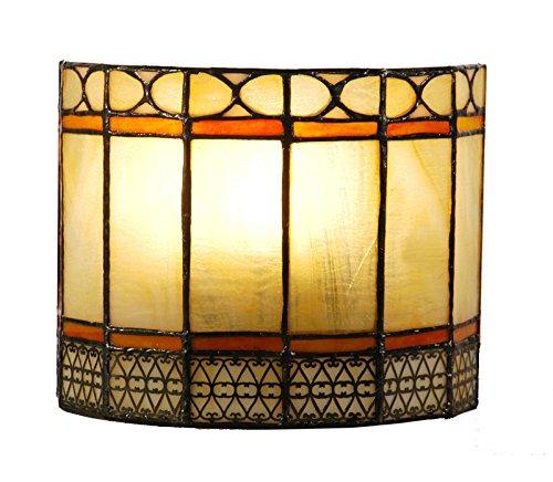 Wandlamp in Tiffany-stijl