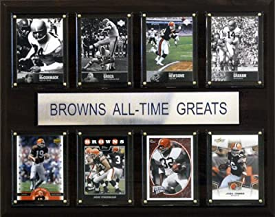 NFL Cleveland Browns All-Time Greats Plaque