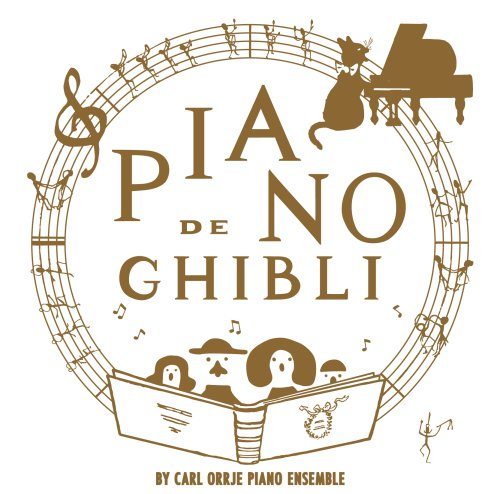 Studio Ghibli Works Piano Collection