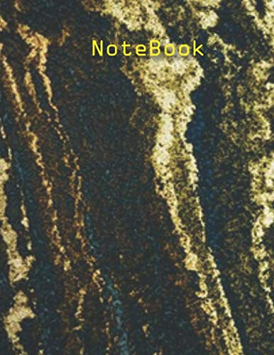 NoteBook: Marble Print Composition Notebook - College Ruled 120 Pages - Large 8.5 x 11