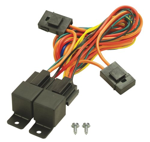 Derale 16765 Electric Fan Dual Relay Wire Harness, Black