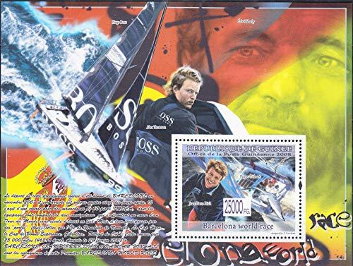 ギニア『バルセロナ世界ヨットレース』2008
