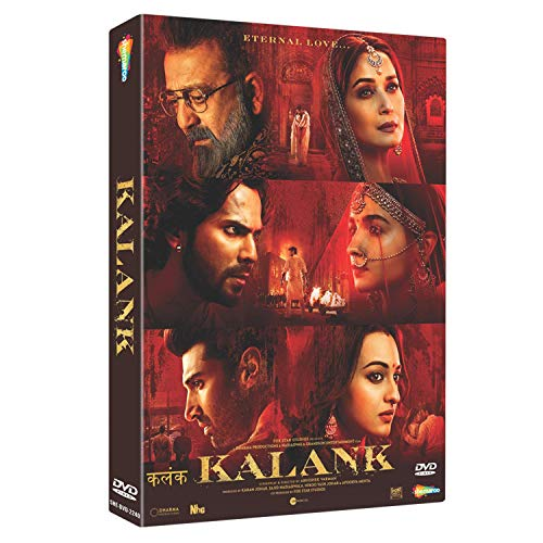 Kalank Hindi DVD ( All Regions English Subtitles )