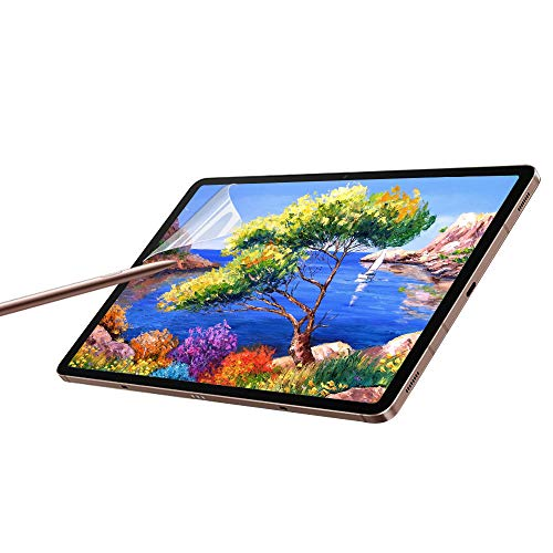 Paperfeel Galaxy Tab S7 Screen Protector,Samsung Galaxy Tab S7 11 Inch Tablet Matte PET Film for Drawing No Glare and Paper Texture, Compatible with S-Pen and Face ID