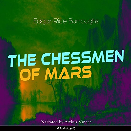 The Chessmen of Mars  By  cover art