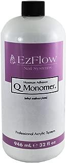 EZ Flow Q Monomer False Nails, 32 Fluid Ounce