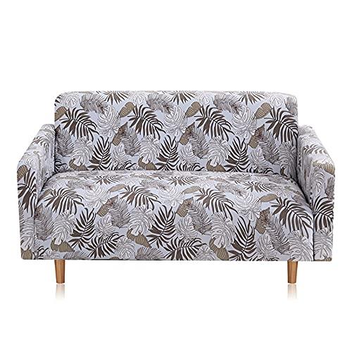 WXQY Funda de sofá elástica para Sala de Estar, Funda de sofá con combinación de Esquina en Forma de L, Funda de sofá Todo Incluido Antideslizante A3 de 3 plazas