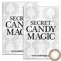 Secret Candymagic monthly シークレット キャンディー マジック マンスリー 【カラー】ピンクベージュ 【PWR】-3.00 1枚入 2箱
