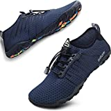 SIMARI Water Shoes Mens Womens Sports Quick Dry Barefoot Diving Swim Surf Aqua Walking Beach Yoga 215 Purplish Blue