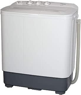 Super General 10Kg Twin Tub Semi Automatic Washing Machine, White - SGW100