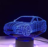 Spezial- & Stimmungsbeleuchtung Led Nachtlampe Acryl Kinder Lava Lampe 7 Farben Touch Tischleuchte