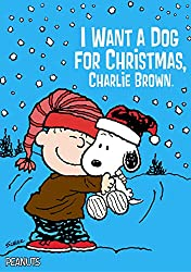 I Want a Dog for Christmas, Charlie Brown (AFFILIATE)
