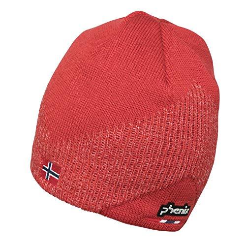 Phenix Norway Alpine Team Beanie Mütze, Red, One Size