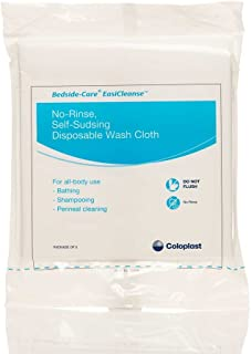 Bedside-Care EasiCleanse Disposable Washcloth, No-Rinse, Self-Sudsing, 7056 (Case of 500)