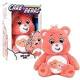 Care Bears 22084 - Oso de Peluche Mediano de 35,5 cm (14 Pulgadas), diseño de Oso Amor-a-Lote, Coleccionable, Juguete de Peluche para niños, Juguetes Suaves para niñas y niños a Partir de 4 años