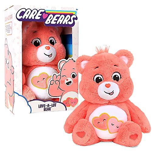 Care Bears - 14' Plush - Love-A-Lot Bear - Soft Huggable Material!
