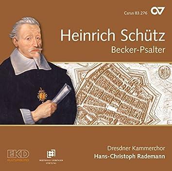 Schütz: Complete Recording, Vol. 15 – Becker Psalter