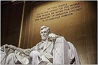 HDアブラハムリンカーン記念館9034711(19x27の大人向けプレミアム1000ピースジグソーパズル)
