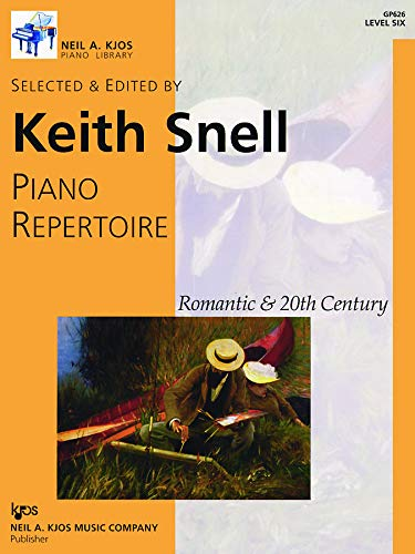 GP626 - Piano Repertoire: Romantic & 20th Century, Level 6