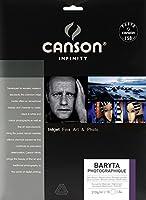 キャンソン 写真用紙 インフィニティ バライタ・フォトグラフィック A4 10枚 00002289 【正規輸入品】